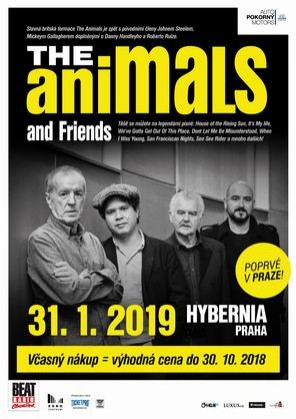 The Animals and Friends (UK) poprvé v Hybernii