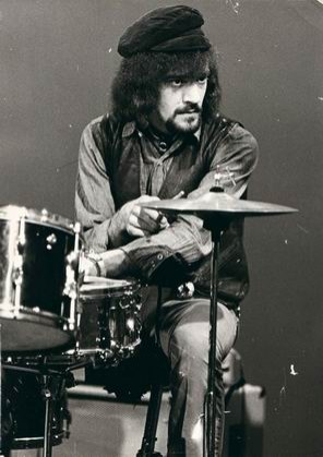 drums of Jethro Tull - Clive Bunker /UK/