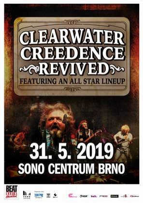 Creedence Clearwater Revived v Brně 2019