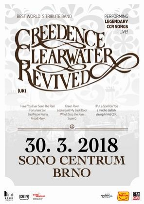 Creedence Clearwater Revived /UK/ 2018 Brno