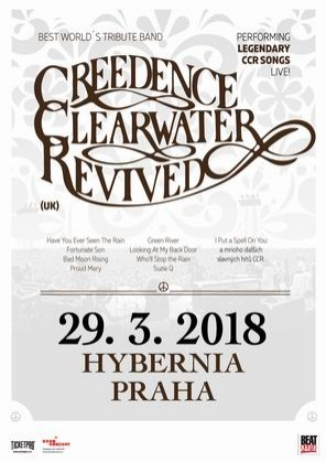 Creedence Clearwater Revived /UK/ 2018 Praha