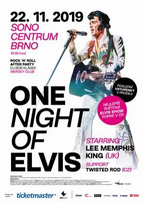 One Night Of Elvis /UK/ v Brně